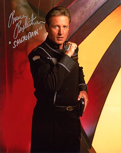 Bruce Boxleitner BABYLON 5 In Person Autographed Photo ** PRIVATE SIGNING **
