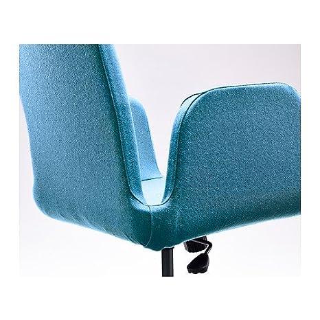 Terrific Ikea Patrik Swivel Chair Ullevi Blue Amazon Co Uk Inzonedesignstudio Interior Chair Design Inzonedesignstudiocom