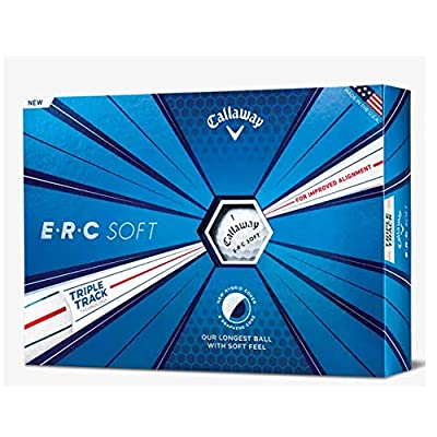Callaway Golf ERC Soft Triple Track Golf Balls, (One Dozen) from Callaway