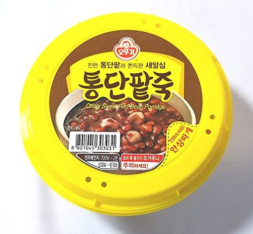 (Ottogi Sweet Red Bean Porridge, 10oz./bowl (오뚜기 통단팥죽, 285g 용기죽))