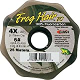 Frog Hair Fluorocarbon 25 Meter Tippet Spools 0x - 7x (0x)