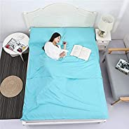 AINAAN Camping Sleeping Bag Liner Lightweight Portable Clean Travel Sheet Sack for Hotel Train Trip Hiking Out