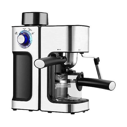 DEJA 800W máquina de Espresso Cafeteras con 5 Bar de la Bomba y la ...