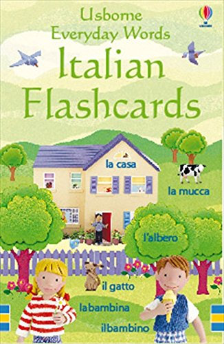 Italian flashcards for improving Italian