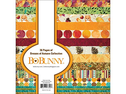 Bo Bunny Dreams of Autumn Paper Pad 6 x 6 Dreamautumn