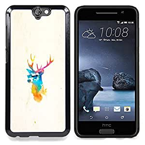 - Elk Deer Pimp/ Hard Snap On Cell Phone Case Cover - Cao - For HTC ONE A9