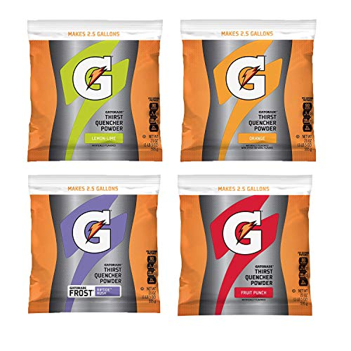 (Gatorade Variety Pack Powder, 21-Ounce Packages (Pack of 32))