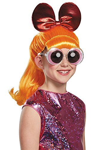 Blossom Powerpuff Girls Wig, One Size Child]()
