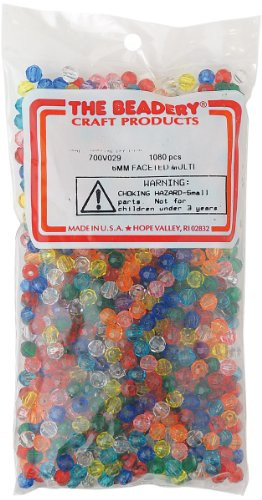 6 Mm Faceted Beads - 3