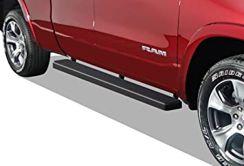 APS iBoard Black 5 inches Will Not Fit 2018 Previous Generation Build in 2019 304 Stainless Steel Running Boards Nerf Bars Side Steps Compatible with 2019-2020 Ram 1500 Crew Cab Pickup 4Dr