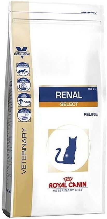 Royal Canin Vet Diet - Comida seca para gatos Renal Select (2 kg)