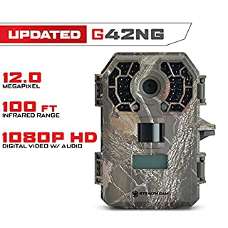 Stealth Cam G42NG No Glo Trail and Wildlife Camera. Day or night proven reliability. Designed and Engineered in the USA