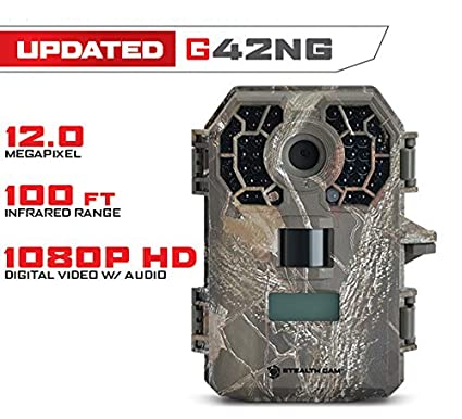 a8fc55537b9 Stealth Cam G42NG No Glo Trail and Wildlife Camera. Day or night proven  reliability.