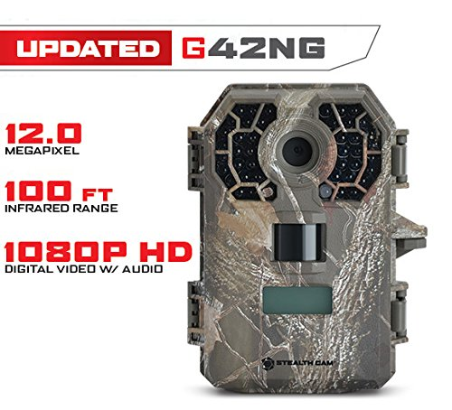 Stealth Cam G42NG No Glo Trail and Wildlife Camera. Day or night proven reliability. Designed and Engineered in the USA by Stealth Cam