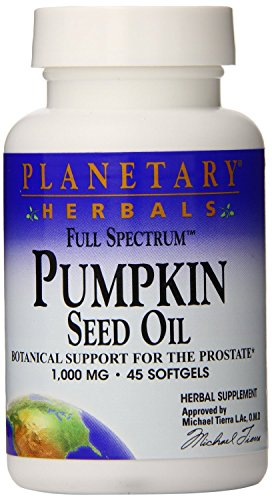 Planetary Formulations - Pumpkin Seed Oil, 45 softgels