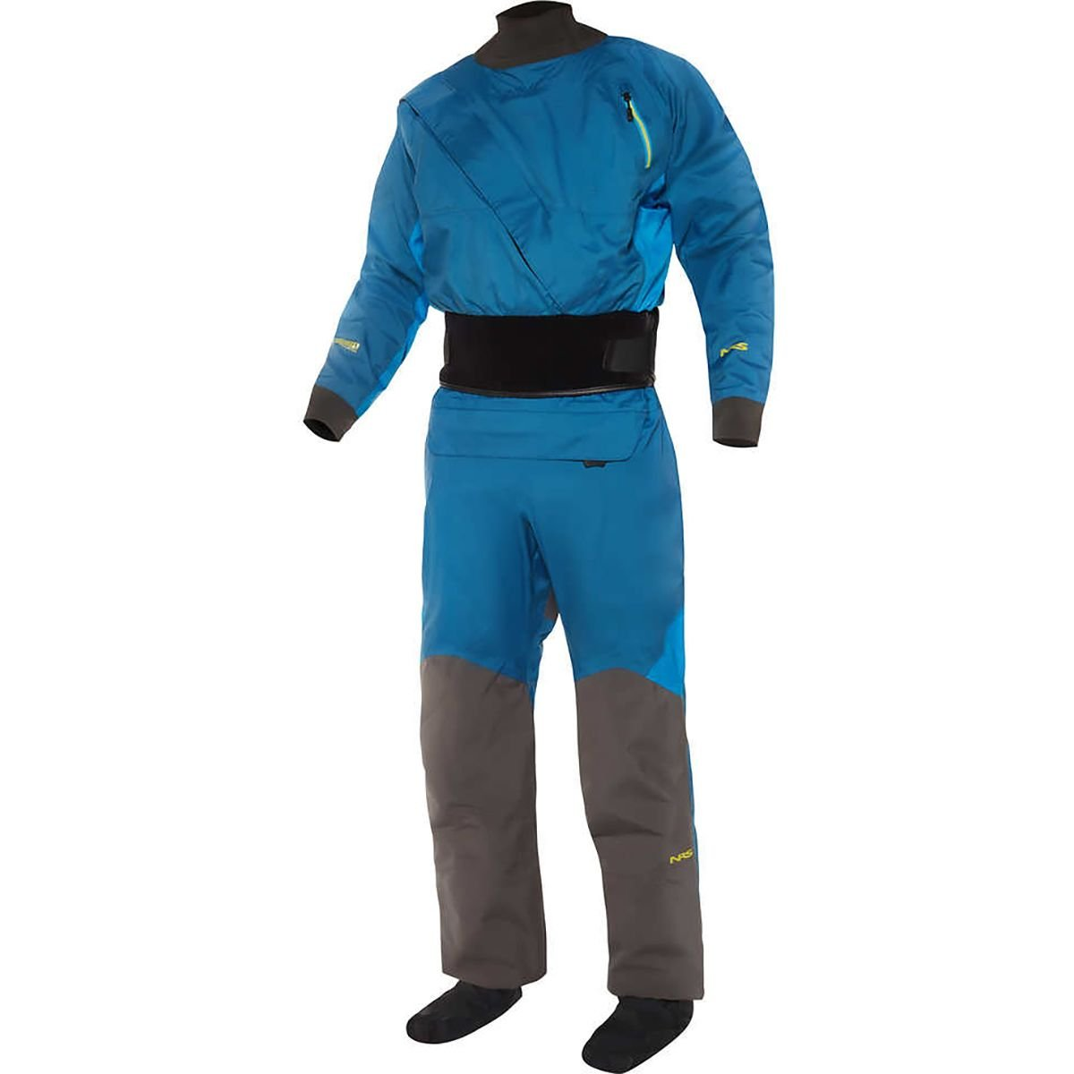 NRS Crux Drysuit - Men's Deep Blue XXL