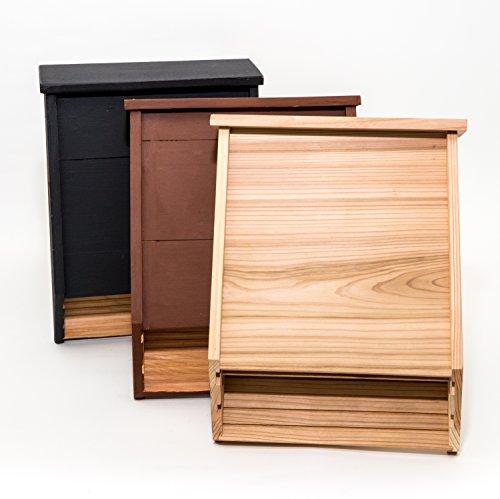 Big Bat Box 2-Chamber Cedar Bat House (Brown) by Big Bat Box (Image #4)