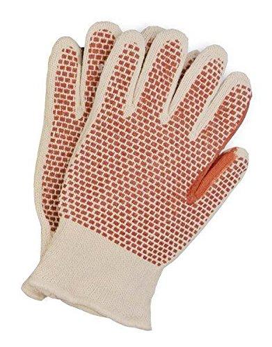 Mill Knit Hot (San Jamar ML5000 Hot Mill Knit Gloves (Pack of 2))