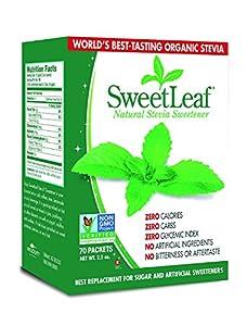 Sweetleaf Stevia 70 Piece Sweetener