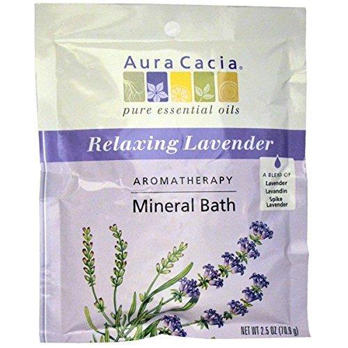 Aura Cacia Lavender Harvest Mineral Bath ( 6x2.5 OZ) by Aura Cacia