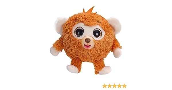 Zigamazoo Ojos brillantes, mono de peluche, color naranja (Famosa 700013220): Amazon.es: Juguetes y juegos