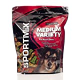 Sportmix Wholesomes Medium Variety Grain Free Dog Biscuit Treats, 4 Lb. Review