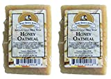 Premium Handcrafted Artisan Goat Milk Soap – FEELS SO WONDERFUL on your skin that 4 out of 5 customers come back! (Honey Oatmeal (2-Pack)) Review