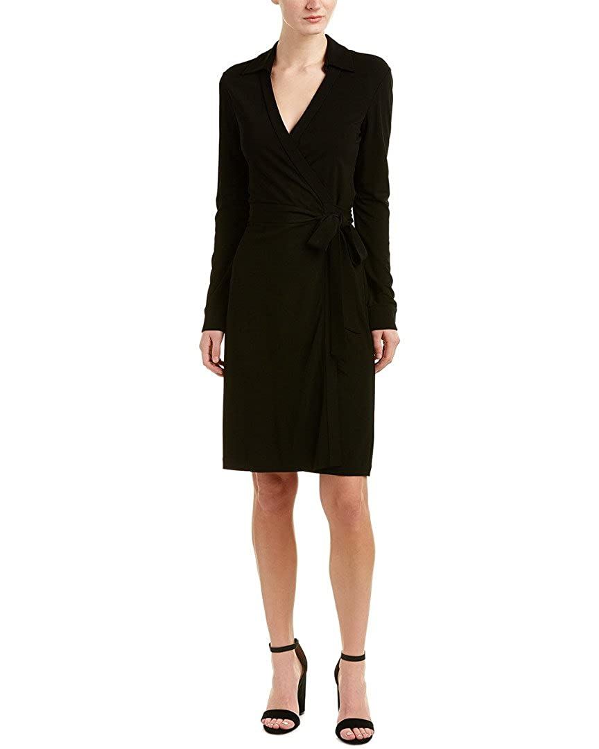 Diane von Furstenberg Women's New Julian Two Wrap Dress Black 2 D5131618E00