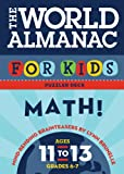 The World Almanac for Kids Puzzler Deck: Math: Ages 11-13: Math: Ages 11-13, Grades 6-7