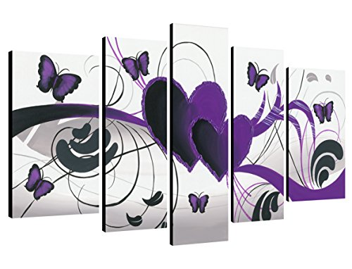 Purple Love Butterfly Large   Living room Bedroom Home