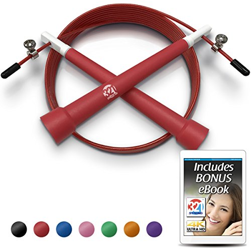 Plastic Jump Rope   Red