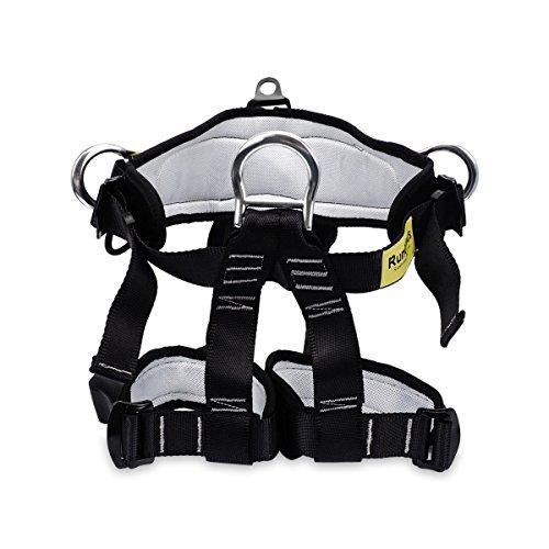 RunElves Climbing Harness,Thicken Protect Waist Leg Safety Harness