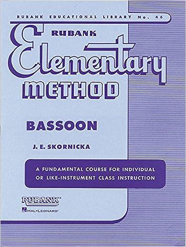 ?DOC? Rubank Elementary Method - Bassoon (Rubank Educational Library). nuestro forage populous empresa requires Vehicles August