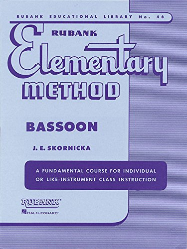 Rubank Elementary Method - Bassoon (Rubank Educational Library) (Tapa Blanda)