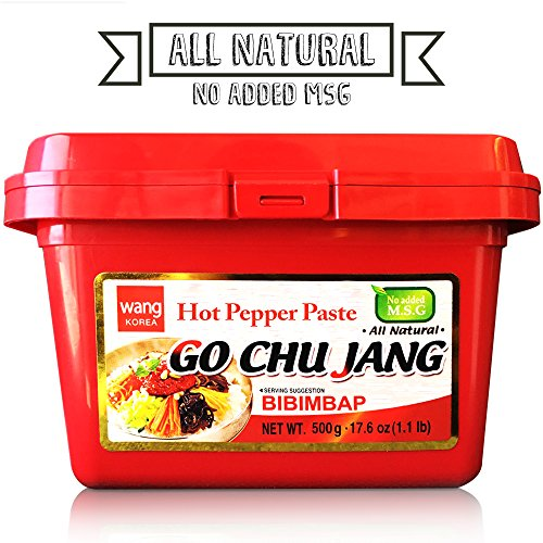 Hot Red Chili Pepper Paste, Korean Traditional Essential Seasoning Sauce