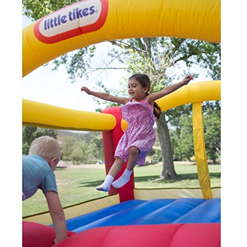 Little Tikes Inflatable Jump 'n Slide Bounce House w/heavy duty blower by Little Tikes (Image #4)