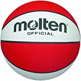 Molten Premium Rubber Basketball (Red, Official/Size 7)