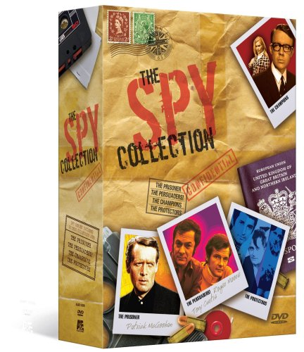(The Spy Collection Megaset (The Prisoner / The Persuaders / The Champions / The Protectors))