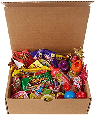 Mexican Candy Variety Care Package By Athomeplus 40 Count Perfect Gift For College Dorm Military Or Office