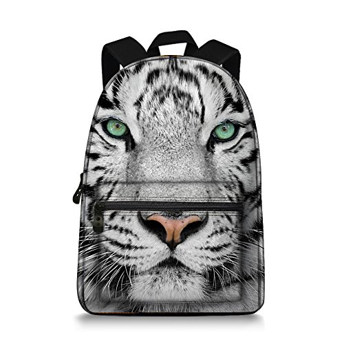 Tiger Backpack - Animal Printing Children School Backpack School Bags for Boys and Girls, Tiger