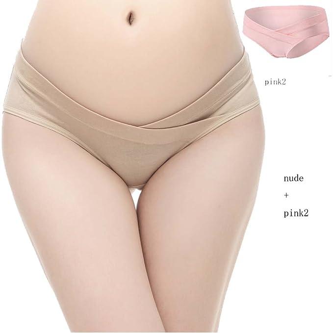 Braguitas Belly algodón bragas ropa interior de apoyo para mujeres embarazadas