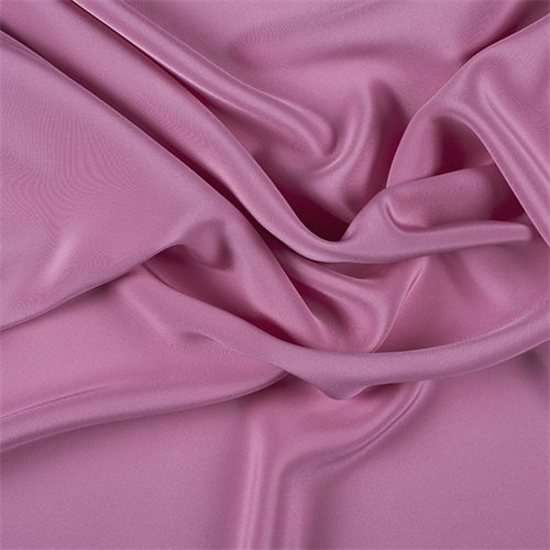 Hot Pink 4 Ply Silk Crepe, Fabric By the ()
