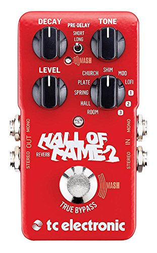 TC Electronic 960661001 Hall of Fame 2 Reverb Pedal by TC Electronic