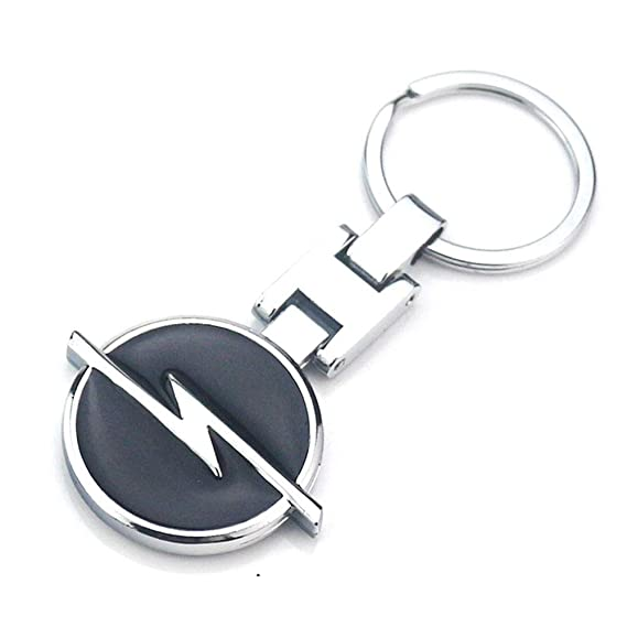Amazon.com: Fitracker Opel KeyChain Metal Alloy Double Sided ...