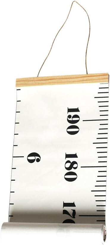 Flechas YeahiBaby Medidor de altura ni/ños Gr/áfico de crecimiento para beb/é decoraci/ón de pared la habitaci/ón infantil