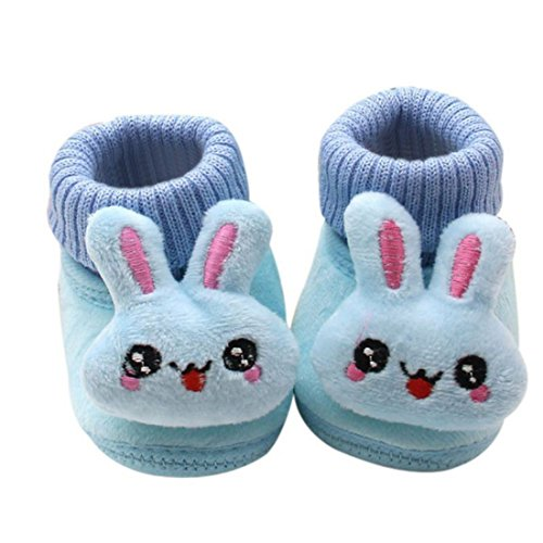 Slip Anti Bottom Bootie Soft Winter Blue Girl Warm LAVO'S Shoes Boy Baby Boots wx6YYX0q