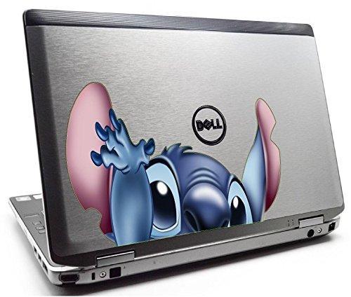 Stitch peeking, laptop, car 3D Wall Decal Sticker 7, 14, 18, 24or 36