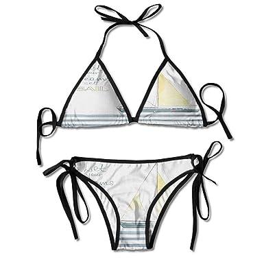 Amazon.com: kjhep lk - Bikini de correa desmontable, diseño ...