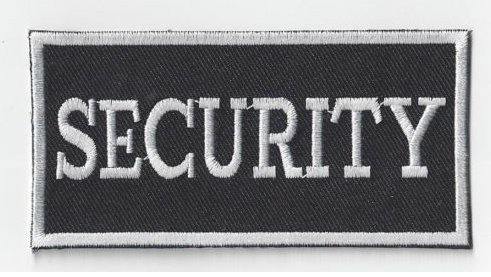 Security Uniform Patches (SECURITY EMBROIDERED BADGE VELCRO PATCH(GQ))