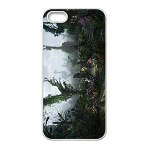 Custom Alice in Wonderland Back Cover Case for iphone5,5S JN5S-623